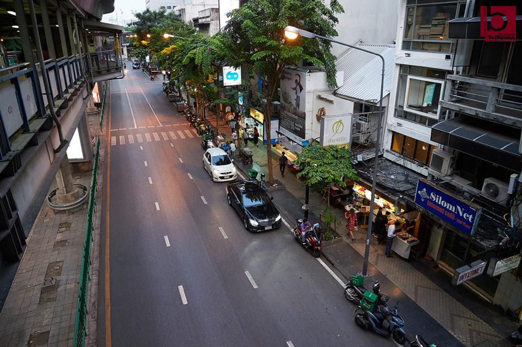 Silom road, Bangkok