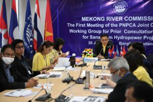 Formal consultation for Sanakham, the Mekong's sixth proposed dam, kick-started_with dam documents thrown back for improvement