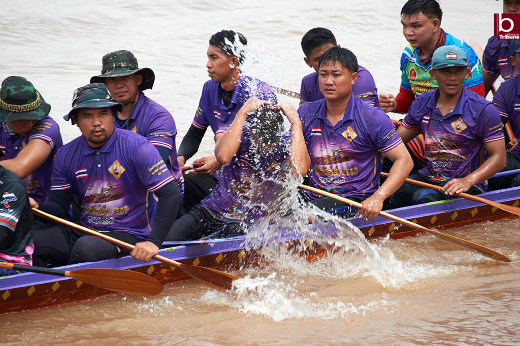 Mekong Boat Racing - after the race