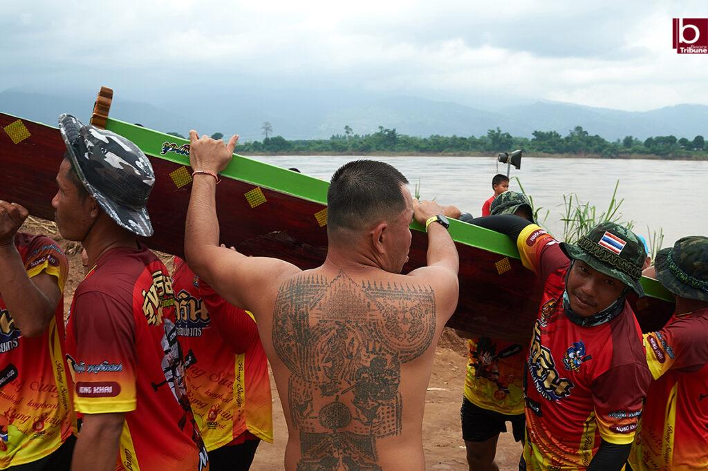 Mekong Boat Racing - tattoo