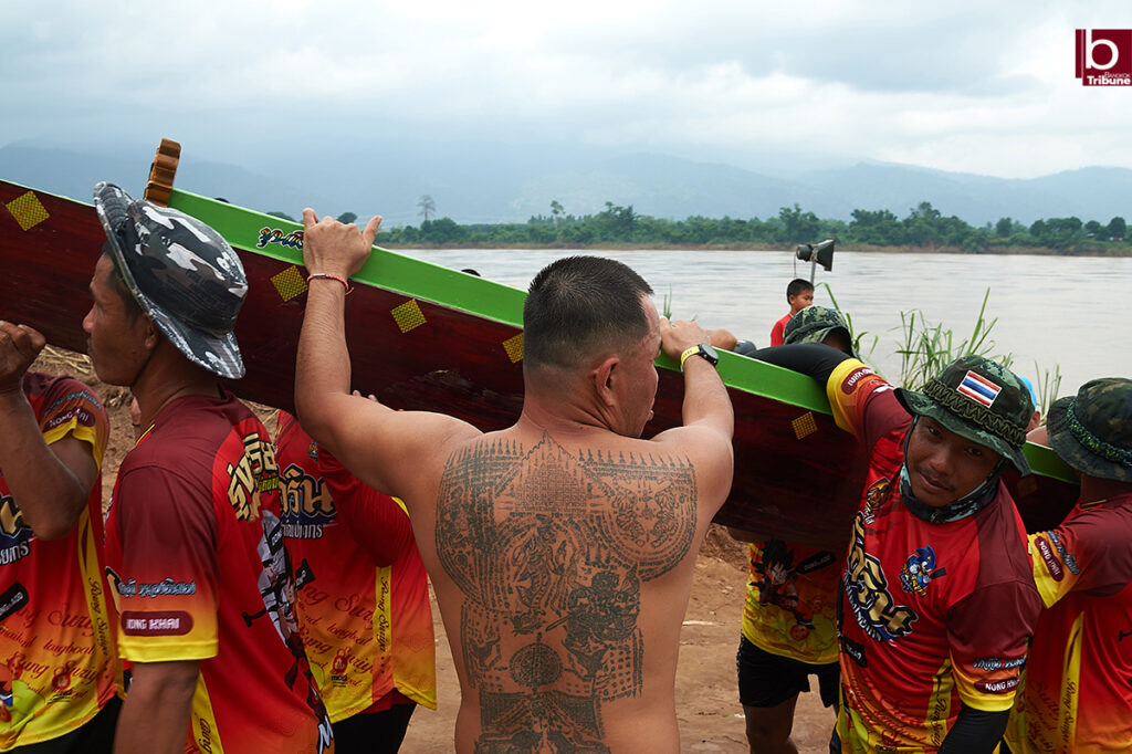 Mekong Boat Racing - tattoo