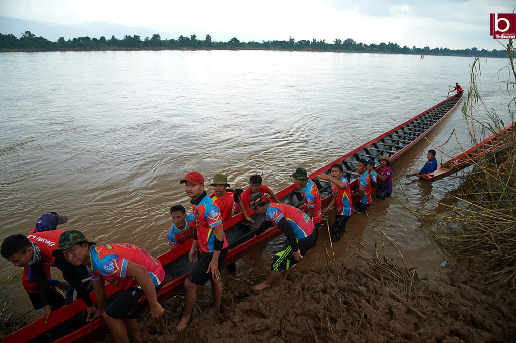 Mekong Boat Racing - after the match