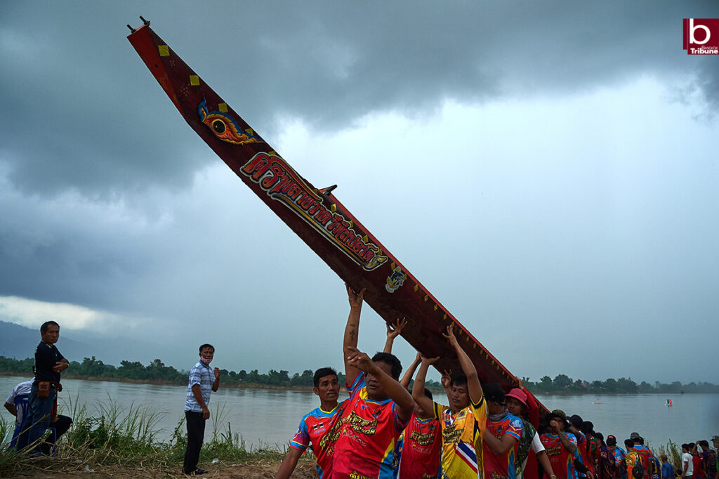 Mekong Boat Racing - ready to go home