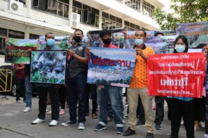 Pro-park groups step out calling on PM to investigate the ongoing Bangkloi forestland conflict